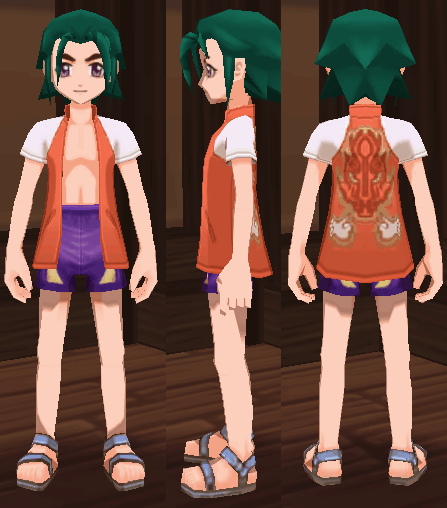 海開の衣装
