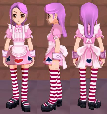 アリスの服(ピンク)