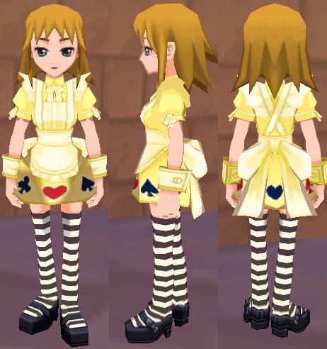アリスの服(イエロー)