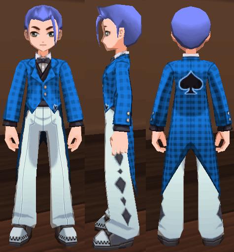 ウサギさんスーツ(ブルー)