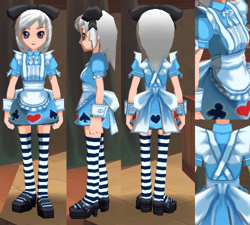 アリスの服 アリスのリボン