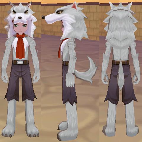 オオカミスーツ オオカミヘッド