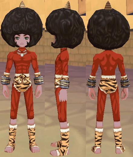赤鬼スーツ 鬼の角