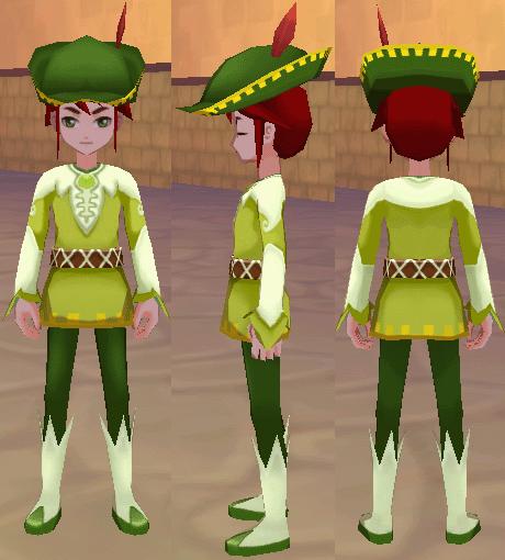 フェアリープリンス 妖精の帽子