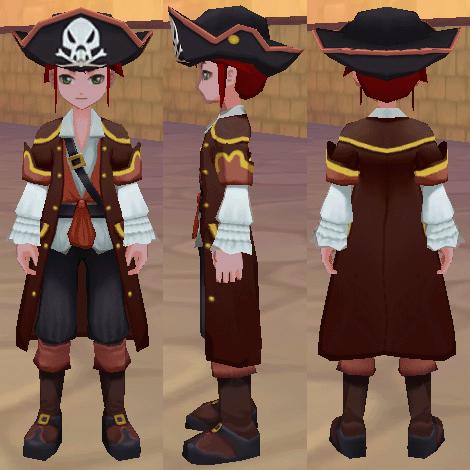 海賊服 海賊帽子