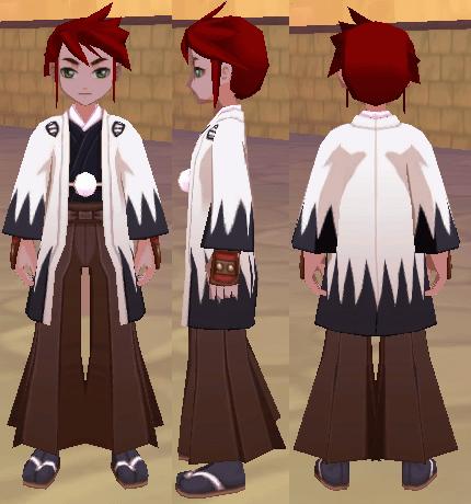 新選組の白羽織(男)