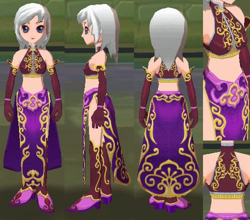舞姫のドレス