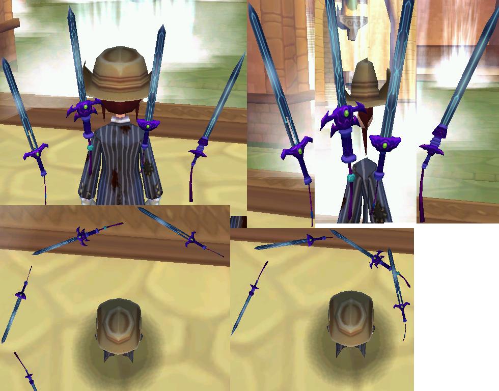 四天降魔剣・紫龍