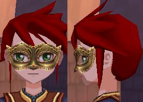 ゴールドマスカレードマスク