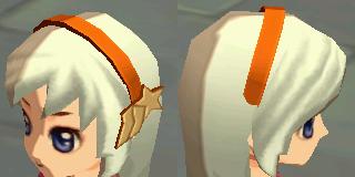 星の髪飾り