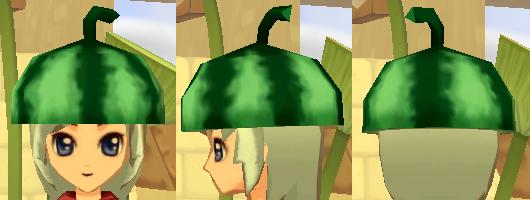 西瓜帽 スイカキャップ