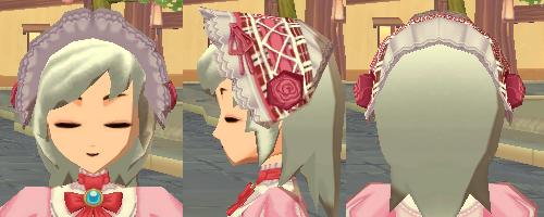タータンチェックヘッドドレス