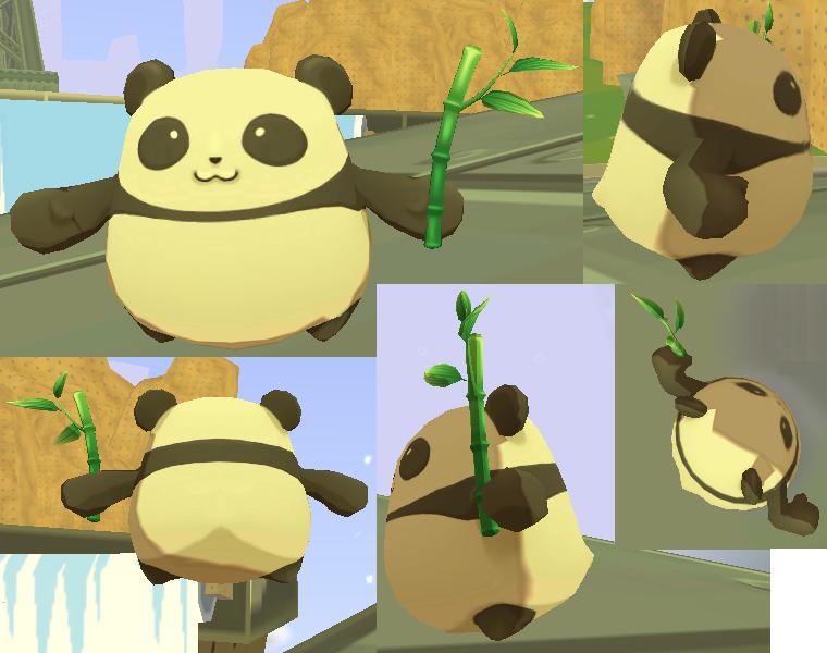 パンダのケース